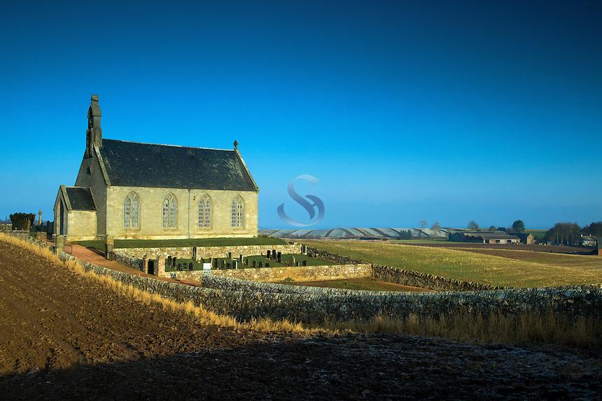 Boarhills Church, Boarhills, the East Neuk of Fife, Fife