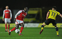 Fleetwood Town's Toumani Diagouraga<br /> <br /> Photographer Kevin Barnes/CameraSport<br /> <br /> The EFL Sky Bet League One - Oxford United v Fleetwood Town - Tuesday 10th April 2018 - Kassam Stadium - Oxford<br /> <br /> World Copyright &copy; 2018 CameraSport. All rights reserved. 43 Linden Ave. Countesthorpe. Leicester. England. LE8 5PG - Tel: +44 (0) 116 277 4147 - admin@camerasport.com - www.camerasport.com