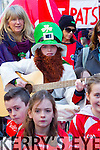 Danny Greaney Saint Pats GAA club at Tralee Saint Patrick's day parade on Tuesday.