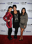 WEST HOLLYWOOD, CA. - October 21: Kimberly Kardashian, Kris Jenner and Kourtney Kardashian arrive at the Lamar Odom launch of Rich Soil at Kitson L.A. on October 21, 2009 in West Hollywood, California.