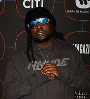 LOS ANGELES, CA - FEBRUARY 07: Wale attends the Warner Music Pre-Grammy Party at the NoMad Hotel on February 7, 2019 in Los Angeles, California.  <br /> CAP/MPI/IS<br /> &copy;IS/MPI/Capital Pictures