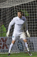Goalkeeper Matt Ingram of Wycombe Wanderers during the Sky Bet League 2 match between Wycombe Wanderers and Morecambe at Adams Park, High Wycombe, England on 2 January 2016. Photo by Andy Rowland / PRiME Media Images