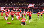 Solna 2015-09-08 Fotboll EM-kval , Sverige - &Ouml;sterrike :  <br /> &Ouml;sterrikes spelare jublar efter matchen mellan Sverige och &Ouml;sterrike <br /> (Photo: Kenta J&ouml;nsson) Keywords:  Sweden Sverige Solna Stockholm Friends Arena EM Kval EM-kval UEFA Euro European 2016 Qualifying Group Grupp G &Ouml;sterrike Austria jubel gl&auml;dje lycka glad happy