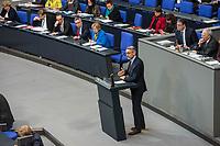 17. Sitzung des Deutschen Bundestag am Donnerstag den 1. Maerz 2018.<br /> Tagesordnungspunkt: &quot;Einsetzung des 1. Untersuchungsausschuss&quot; zur Aufklaerung des Terroranschlag des islamistischen Terroristen Anis Amri auf den Weihnachtsmarkt am Berliner Breitscheidplatz im Dezember 2017.<br /> Im Bild: Der Ausschussvorsitzende Armin Schuster (CDU), bei seiner Rede zur Einsetzung des Parlamentarischen Untersuchungsausschuss.<br /> 1.3.2018, Berlin<br /> Copyright: Christian-Ditsch.de<br /> [Inhaltsveraendernde Manipulation des Fotos nur nach ausdruecklicher Genehmigung des Fotografen. Vereinbarungen ueber Abtretung von Persoenlichkeitsrechten/Model Release der abgebildeten Person/Personen liegen nicht vor. NO MODEL RELEASE! Nur fuer Redaktionelle Zwecke. Don't publish without copyright Christian-Ditsch.de, Veroeffentlichung nur mit Fotografennennung, sowie gegen Honorar, MwSt. und Beleg. Konto: I N G - D i B a, IBAN DE58500105175400192269, BIC INGDDEFFXXX, Kontakt: post@christian-ditsch.de<br /> Bei der Bearbeitung der Dateiinformationen darf die Urheberkennzeichnung in den EXIF- und  IPTC-Daten nicht entfernt werden, diese sind in digitalen Medien nach &sect;95c UrhG rechtlich geschuetzt. Der Urhebervermerk wird gemaess &sect;13 UrhG verlangt.]