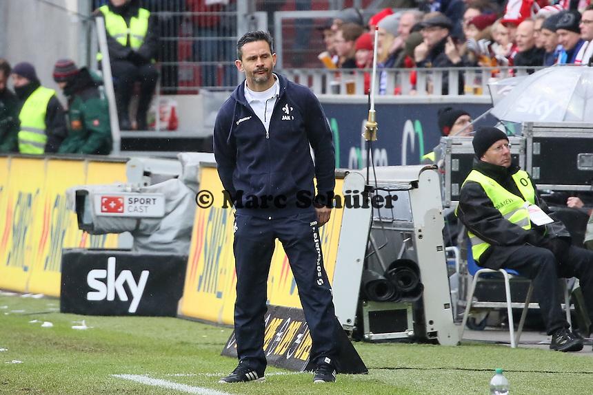 Trainer Dirk Schuster (Darmstadt) - 1. FSV Mainz 05 vs. SV Darmstadt 98, Coface Arena