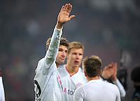 FUSSBALL   DFB POKAL   SAISON 2011/2012   VIERTELFINALE VfB Stuttgart - FC Bayern Muenchen                      08.02.2012 Thomas Mueller (FC Bayern Muenchen)