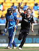 3rd February 2019, Westpac Stadium, Wellington, New Zealand;5th ODI Cricket International  match, New Zealand versus India;  Black Caps Jimmy Neesham