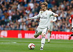 Real Madrid CF's Luka Modric during La Liga match. April 21, 2019. (ALTERPHOTOS/Manu R.B.)