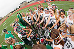 San Diego, CA 05/21/11 - The Coronado team during a team huddle before the game against Cathedral Catholic for the 2011 CIF San Diego Division 2 Championship game.