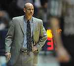 "Mississippi head coach Andy Kennedy watches the action vs. Tennessee at the C.M. ""Tad"" Smith Coliseum on Thursday, January 24, 2013. (AP Photo/Oxford Eagle, Bruce Newman)"