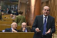 """Roma, 31 Marzo 2015<br /> Pier Luigi Bersani<br /> Camera dei Deputati<br /> Convegno """"Perche la politica"""" in occasione dei 100 anni di Pietro Ingrao."""