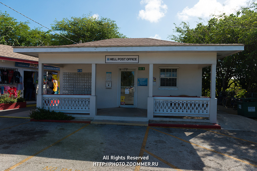 Hell Post Office In Grand Cayman