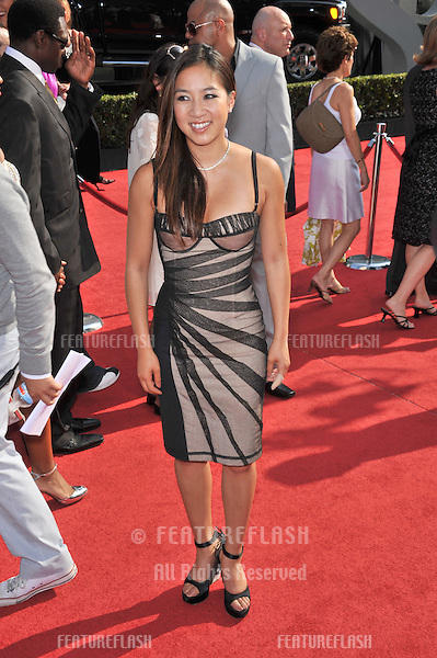 Michelle Kwan at the 2008 ESPY Awards at the Nokia Theatre, Los Angeles..July 16, 2008  Los Angeles, CA.Picture: Paul Smith / Featureflash