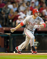Utley, Chase 5532.jpg Philadelphia Phillies at Houston Astros. Major League Baseball. September 6th, 2009 at Minute Maid Park in Houston, Texas. Photo by Andrew Woolley.