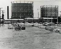 1962  March  08..Historical         ..1962 NORFOLK FLOODING.VIRGINIAN PILOT S. H. RINGO.NEG#.961-H..