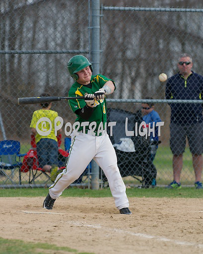 CHS sophomore catcher Tom Russell at bat.
