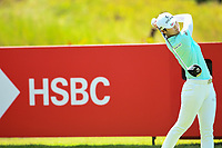 SINGAPORE - MARCH 02: Sung Hyun Park of South Korea on the 5th tee during the third round of the HSBC Women's World Championship 2019 at Sentosa Golf Club - Tanjong Course, Singapore on March 02, 2019.<br /> .<br /> .<br /> .<br /> (Photo by: Naratip Golf Srisupab/SEALs Sports Images)<br /> .<br /> Any image use must include a mandatory credit line adjacent to the content which should read: Naratip Golf Srisupab/SEALs Sports Images