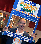 UTRECHT - Blauwe kaart,  KNHB voorzitter Erik Cornelissen.  Nationaal Hockey Congres van de KNHB, COPYRIGHT KOEN SUYK