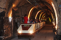 Europe/France/Champagne-Ardenne/51/Marne/Epernay : Champagne Mercier - Visite des caves avec le petit train