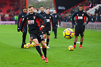Ryan Fraser of AFC Bournemouth warms up during AFC Bournemouth vs Wigan Athletic, Emirates FA Cup Football at the Vitality Stadium on 6th January 2018