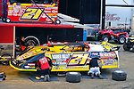Feb 06, 2011; 6:00:06 PM; Gibsonton, FL., USA; The Lucas Oil Dirt Late Model Racing Series running The 35th annual Dart WinterNationals at East Bay Raceway Park.  Mandatory Credit: (thesportswire.net)