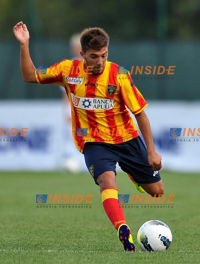 """Cosimo CHIRICO (Lecce).Lecce Vs Calstelfranco.Football Calcio gara amichevole 2011/2012.Fanano 7/8/2011 Centro Sportivo """"Fanano"""".Foto Alessandro Sabattini Insidefoto"""