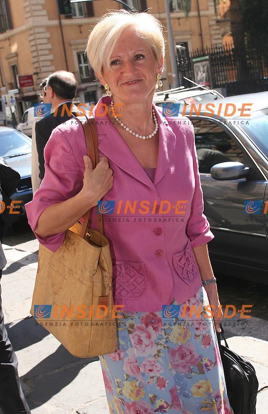 Roma, 17/07/2006 Consiglio Nazionale dei Democratici di Sinistra al teatro Eliseo. Nella foto il ministro della Salute Livia Turco.<br /> Photo Samantha Zucchi Insidefoto