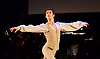 English National Ballet <br /> Emerging Dancer 2015 <br /> at Queen Elizabeth Hall, Southbank, London, Great Britain <br /> 23rd March 2015 <br /> <br /> <br /> Vitor Menezes in Nutcracker solo <br /> <br /> <br /> Photograph by Elliott Franks <br /> Image licensed to Elliott Franks Photography Services