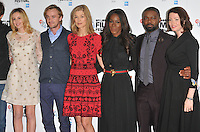 Laura Carmichael, Tom Felton, Rosamund Pike, Amma Asante, David Oyelowo and Jessica Oyelowo at the 60th BFI London Film Festival &quot;A United Kingdom&quot; opening gala press conference and photocall, The May Fair Hotel, Stratton Street, London, England, UK, on Wednesday 05 October 2016.<br /> CAP/CAN<br /> &copy;CAN/Capital Pictures /MediaPunch ***NORTH AND SOUTH AMERICAS ONLY***