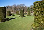 Garden designed by Piet Oudolf at Scampston Hall, Yorkshire, England, UK - Silent garden
