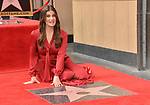 Irina Menzel -Star WofF 026 ,  Kristen Bell And Idina Menzel  Honored With Stars On The Hollywood Walk Of Fame on November 19, 2019 in Hollywood, California