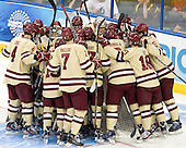 - The Boston College Eagles defeated the University of Minnesota Golden Gophers 6-1 in their 2012 Frozen Four semi-final on Thursday, April 5, 2012, at the Tampa Bay Times Forum in Tampa, Florida.