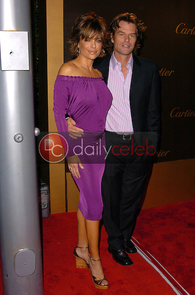 Lisa Rinna and Harry Hamlin<br /> at the Cartier Celebrates 25 Years In Beverly Hills, Cartier Boutique, Beverly Hills, CA 05-09-05<br /> Chris Wolf/DailyCeleb.com 818-249-4998