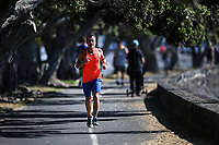 1st April 2020, Kohi Beach, Auckland, New Zealand;  Running for exercise during the lockdown due to Covid-19. Kohimarama, Auckland, New Zealand on Wednesday 1 April 2020.