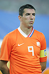 07 August 2008: Roy Makaay (NED).  The men's Olympic soccer team of the Netherlands played the men's Olympic soccer team of Nigeria at Tianjin Olympic Center Stadium in Tianjin, China in a Group B round-robin match in the Men's Olympic Football competition.