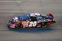 May 2, 2008; Richmond, VA, USA; NASCAR Nationwide Series driver Denny Hamlin during the Lipton Tea 250 at the Richmond International Raceway. Mandatory Credit: Mark J. Rebilas-US PRESSWIRE