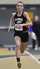 Lauren Valenti of Plainedge sprints to victory in the girls 55 meter race during the Nassau County Class B indoor track and field championships and state qualifiers at St. Anthony's High School on Tuesday, Feb. 7, 2017. She also won the girls 300 meter race.
