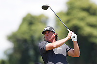 Pat Perez (USA) tees off on the 8th hole during the second round of the 118th U.S. Open Championship at Shinnecock Hills Golf Club in Southampton, NY, USA. 15th June 2018.<br /> Picture: Golffile | Brian Spurlock<br /> <br /> <br /> All photo usage must carry mandatory copyright credit (&copy; Golffile | Brian Spurlock)