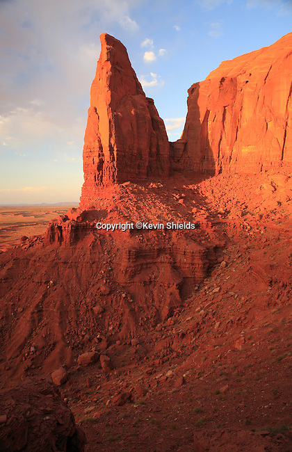 View from Artist's Point, Monument Valley, Arizona, USA