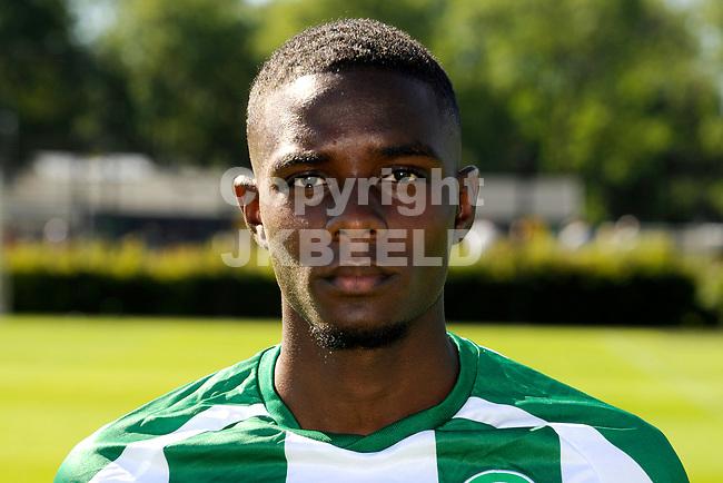 GRONINGEN - Presentatie FC Groningen o23, seizoen 2018-2019,   30-06-2018,  Jhurrey Margaritha