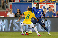 Foxborough, Mass. - Tuesday, September 8, 2015: The USMNT go down 0-1 to Brazil to begin second half play in an international friendly game at Gillette stadium.