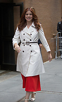 www.acepixs.com<br /> <br /> May 23 2017, New York City<br /> <br /> Actress Debra Messing made an appearance at The View on May 23 2017 in New York City<br /> <br /> By Line: John Peters/ACE Pictures<br /> <br /> <br /> ACE Pictures Inc<br /> Tel: 6467670430<br /> Email: info@acepixs.com<br /> www.acepixs.com