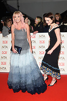 Helen George and Charlotte Ritchie<br /> at the National TV Awards 2017 held at the O2 Arena, Greenwich, London.<br /> <br /> <br /> ©Ash Knotek  D3221  25/01/2017