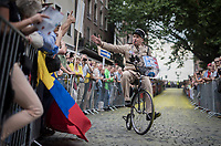 Le gendarme du Tour<br /> <br /> &quot;Le Grand D&eacute;part&quot; <br /> 104th Tour de France 2017 <br /> Team Presentation in D&uuml;sseldorf/Germany