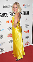 "Kat Gellin attends the ""My Hero"" Raindance Film Festival UK film premiere, Vue Piccadilly cinema, Lower Regent Street, London, England, UK, on Friday 25 September 2015. <br /> CAP/CAN<br /> ©Can Nguyen/Capital Pictures"