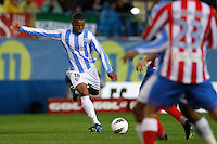 5.05.2012 SPAIN -  La Liga matchday 37th  match played between Atletico de Madrid vs Malaga (2-1) at Vicente Calderon stadium. The picture show Eliseu Pereira dos (Portuguese defender of Malaga)