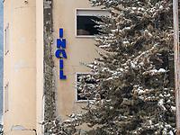 L'Aquila, il vecchio edificio INAIL. Photo by Adamo Di Loreto/BuenaVista*photo