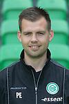 video-analist Mark Wijnbergen of FC Groningen,