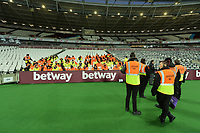 Stewards at the London Stadium during West Ham United vs Liverpool, Premier League Football at The London Stadium on 4th February 2019