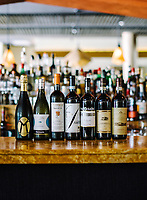 A selection of Northern Italian wines at Barolo Grill in Denver, Colorado, Tuesday, August 20, 2019.<br /> <br /> Photo by Matt Nager